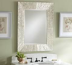 bathroom mirror. Miranda Capiz Mirror Bathroom