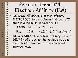 The Periodic Table and Ionic Bonding: Part 5-Periodic Table Trends ...
