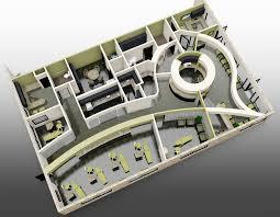 Office Design Plan 3d Dental Office Layout 3d Rendering Dental Office Design