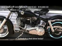 1958 harley davidson panhead flh for sale in beacon falls youtube