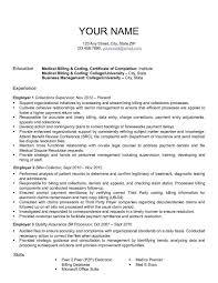 Medical Billing Contract Sample And Medical Billing Resume Sample