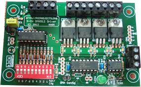 dmx channel driver board this project has now been replaced the new version see 4 channel dmx pwm led driver project 805