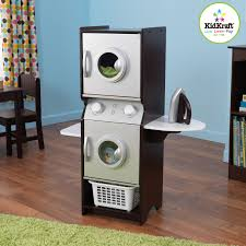 Best Price On Front Load Washer And Dryer Kidkraft Laundry Playset Espresso 63283 Hayneedle
