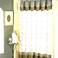 coastal shower curtains fancy with valance novelty living palm curtain