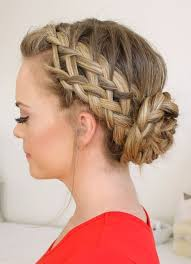 easy bun hairstyles for long hair and um hair1 45