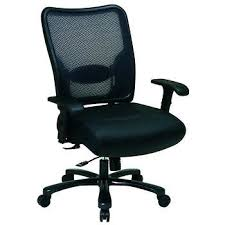 space office furniture. big and tall air grid back chair with leather seat space office furniture d