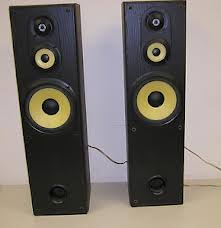 sony tower speakers. sony ss-mf550h 3-way floorstanding speakers tower