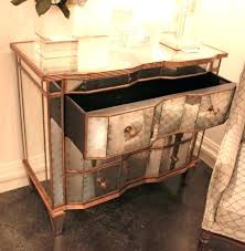 hollywood regency mirrored furniture. Hollywood Regency Mirror Remarkable Mirrored Furniture With Gold Trim Silver Leaf Chest Dresser . E