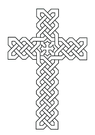 Cross Coloring Pages Free Printable For