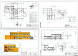 Курсовые и дипломные проекты общественное здание скачать dwg  Курсовой проект Детские ясли сад на 50 человек 15 х 27 м в г