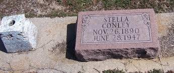 "Estella ""Stella"" Morrow Conley (1890-1947) - Find A Grave Memorial"