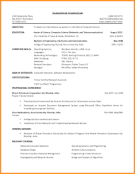 Sample Resume Of College Student For Internship Augustais