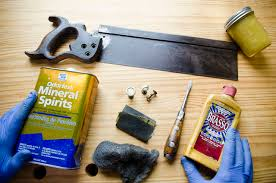 antique hand saw types. antique simonds 97 back saw with hand restoration supplies, including mineral spirits, brasso types