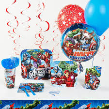 Avengers Party Decorations Superhero Theme Birthday Party Planning Ideas Supplies
