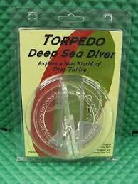 Torpedo Diver Depth Chart Details About Torpedo Deep Sea Diver Clear J0012