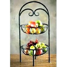 2 tier fruit basket stand 3 three from costco