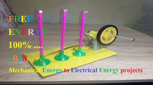 Light Energy To Mechanical Energy Free Energy Model How To Convert Mechanical Energy Into Electrical Energy New