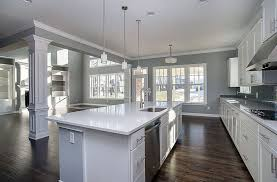 Gray Kitchen Walls With White Cabinets 30 Gray And White Kitchen Ideas  Designing Idea