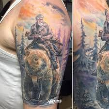 плечо татуировки в муроме Rustattooru
