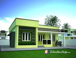 Small Picture Small Single floor Simple Home Design by Niyas