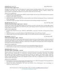 Agile Resume Fascinating CV Rich House Scrum Master Agile Coach Resume Graygardens Info