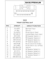 2005 ford focus headlight wiring diagram 2005 2005 ford explorer radio wiring diagram wiring diagram on 2005 ford focus headlight wiring diagram
