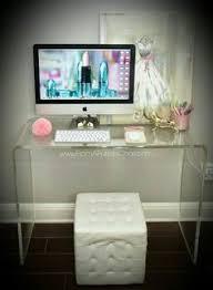 acrylic office desk. \ Acrylic Office Desk
