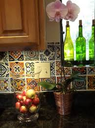 Mexican Tile Kitchen Mexican Tile Backsplash Ideas For Kitchen Home Design Ideas