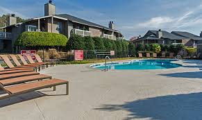 Sparkling Pool And Lounge Area At Hudson Orchard Park Apartments, SC 29615