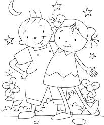 Best Friend Coloring Pages Best Friend Coloring Pages For Girls Cute