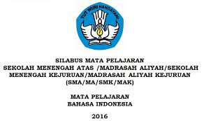 Check spelling or type a new query. Silabus Sma Kurikulum 2013 Revisi 2016 Bahasa Indonesia Silabus