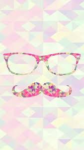cute girly mustache wallpaper. Modren Mustache Hipster Glasses Moustache Pink Girl Wallpaper Cute Kawaii Smartphone Iphone  Galaxy In Cute Girly Mustache Wallpaper B