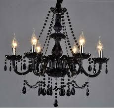 ceiling lights lovely dark black glass crystal chandelier black glass crystal regarding minimalist uptown