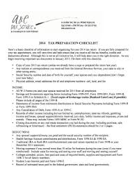 tax preparation checklist excel fillable tax preparation checklist excel edit online print
