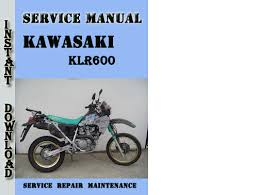 kawasaki kl wiring diagram wiring diagram and schematic 1984 2007 kawasaki klr600 klr650 motorcycle service manual