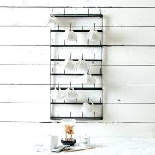 wall mounted coffee cup holder wall mount cup rack cups for days rack magnolia wall