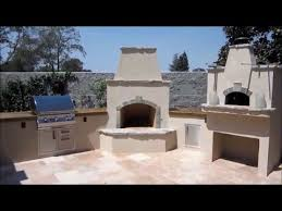 granite bay wood fired pizza oven w outdoor kitchen and fireplace by gpt construction