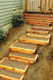 premade wooden steps stairs 3 patio prefab outdoor