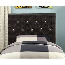 furniture of america chasidy twin faux leather headboard in brown idf 7794br hb t