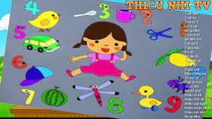 Bài thơ Bé học toán - Bai tho be hoc toan - Thiếu nhi TV - YouTube