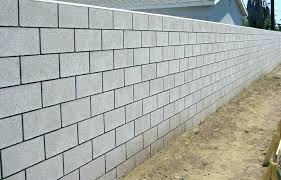 cinder block retaining wall ideas concrete block retaining wall design cinder block wall ideas ideas on