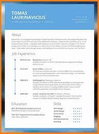 6 Cv Resume Template Modern Theorynpractice