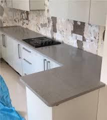 stardust light grey quartz kitchen worktop 3000mm x 700mm x30mm