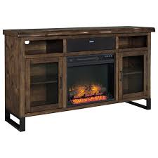Faux Fireplace Insert Large Tv Stand W Fireplace Insert Bluetooth Speaker Faux Live