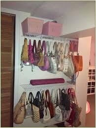 handbag organizer ideas purse organizer for closet