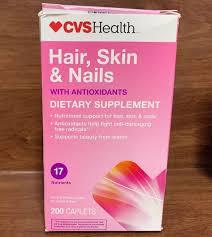 Upc 050428425213 Cvs Hair Skin Nails 200 Tablets