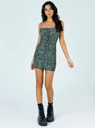 Morrison Mini Dress Green