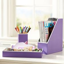 desk accessories for women purple. Fine Accessories Purple Preppy Paper Desk Accessories In For Women