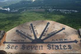 this is the point where you would see seven states