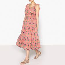 Платье La Redoute Длинное с принтом MIA LONG DRESS 40 (FR ...